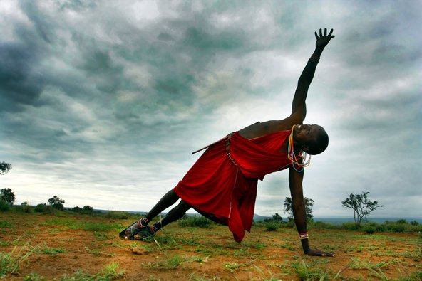 African Warriors - Yoga in the African community